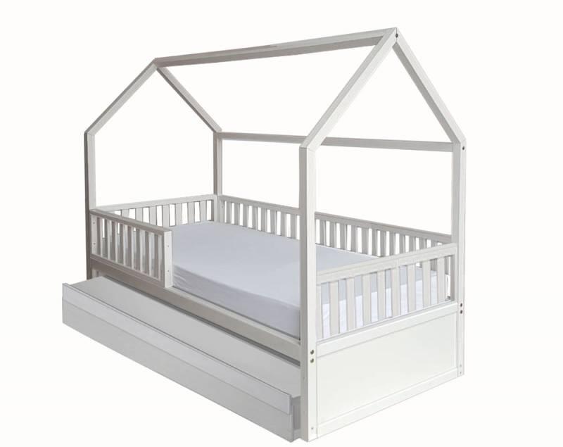 Cama Montessori Solteiro com cama auxiliar