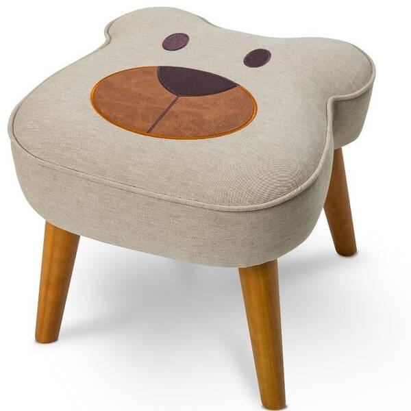 Puff Urso - Tecido B